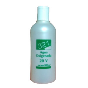 321 AGUA OXIGENADA 20 VOLÚMENES 500 ml