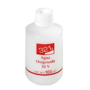 321 AGUA OXIGENADA 30 VOLÚMENES 100 ml