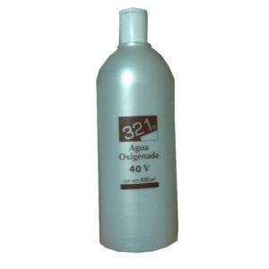 321 AGUA OXIGENADA 40 VOLÚMENES 1 litro