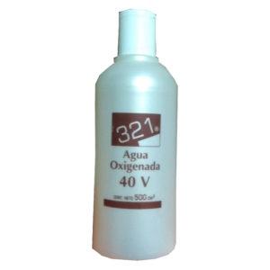 321 AGUA OXIGENADA 40 VOLÚMENES 500 ml
