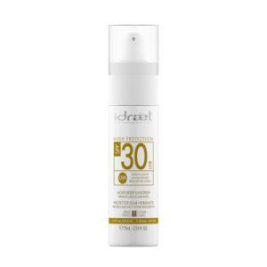 IDRAET PROTECCIÓN SOLAR SPF30  CLARO-BEIGE 75 ml