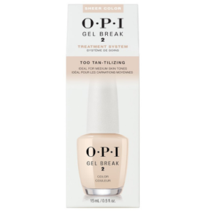 OPI GEL BREAK 2 – COLOR TOO TAN-TILIZING