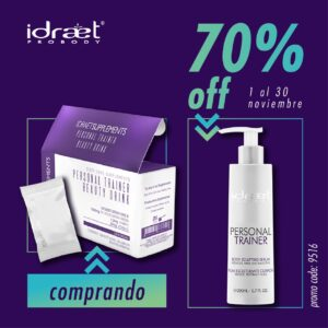 IDRAET PERSONAL TRAINER BEAUTY DRINK SOBRES + PERSONAL TRAINER SERUM