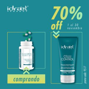 IDRAET CELLU CONTROL BEAUTY CAPS + CELLU CONTROL CREMA