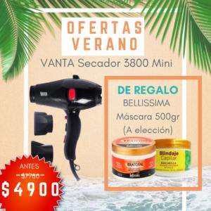 VANTA SECADOR MINI 3800 = BELLISSIMA MÁSCARA 500 GR (A ELECCIÓN)