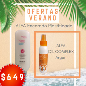 ALFA ENCERADO PLASTIFICADO + OIL COMPLEX ARGAN (copia)