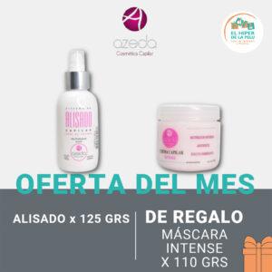 Azeda Alisado Sin Formol 125 ml = Crema Intense 110 gr DE REGALO!!!